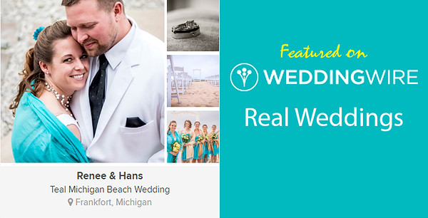 WeddingWire Real Weddings Feature