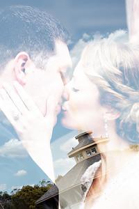 Rhode Island Bride and Groom Wedding Photo