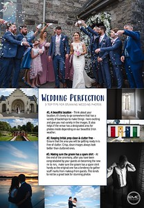 3 top tips for stunning wedding photos