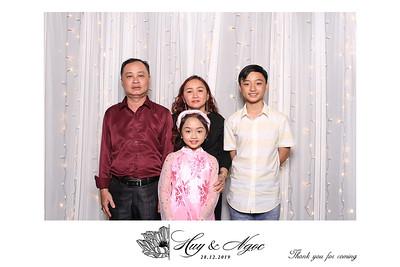 Dịch vụ in ảnh lấy liền & cho thuê photobooth tại sự kiện tiệc cưới của Huy & Ngọc | Instant Print Photobooth Vietnam at Huy & Ngọc' wedding