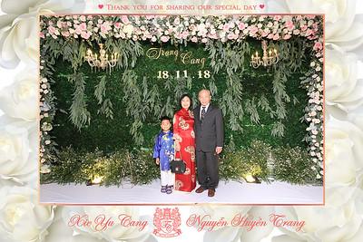 Chụp ảnh lấy liền và in hình lấy liền từ photobooth tại tiệc cưới của Huyền Trang & Yu Cang | Instant Print Photobooth at Huyen Trang & Yu Cang's Wedding | PRINTAPHY - PHOTO BOOTH VIETNAM