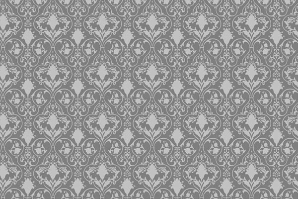 Antique scroll wallpaper - seamless and vector
