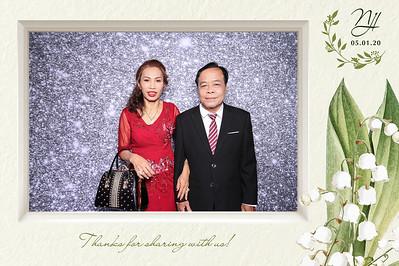 Dịch vụ in ảnh lấy liền & cho thuê photobooth tại tiệc cưới của Linh & Nga | Instant Print Photobooth Vietnam at Linh & Nga's wedding