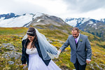 Girdwood Helicopter Wedding: Sharon & Chris by Joe Connolly