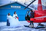 Girdwood Helicopter Wedding: Tatjana & TC by Joe Connolly
