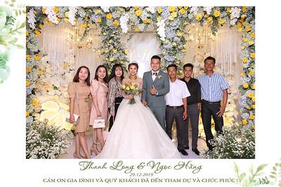 Dịch vụ in ảnh lấy liền & cho thuê photobooth tại sự kiện tiệc cưới của Long & Hằng  | Instant Print Photobooth Vietnam at Long & Hằng's wedding