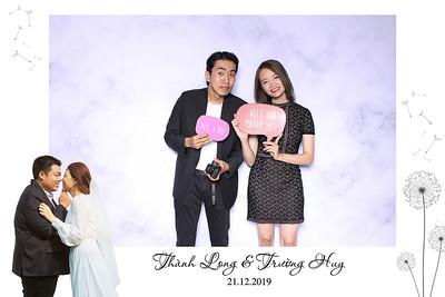 Dịch vụ in ảnh lấy liền & cho thuê photobooth tại sự kiện tiệc cưới của Long & Huy | Instant Print Photobooth Vietnam at Long & Huy's wedding