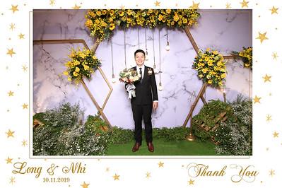Dịch vụ in ảnh lấy liền & cho thuê photobooth tại sự kiện tiệc cưới Long & Nhi | Instant Print Photobooth Vietnam at Long & Nhi's wedding