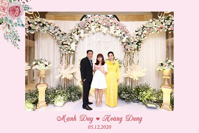 Dịch vụ in ảnh lấy liền & cho thuê photobooth tại sự kiện Tiệc cưới của Mạnh Duy & Hoàng Dung   Instant Print Photobooth Vietnam at Manh Duy & Hoang Dung's Wedding