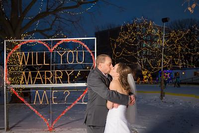 Wedding Megan and Brad Pitel