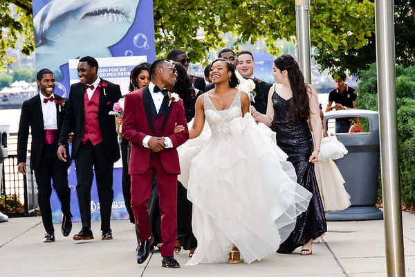 Wedding - Monique & Lamar - August 6, 2017- Camden, NJ