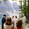 Wedding Photography Moraine Lake, Alberta Elopement