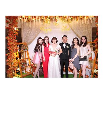 Dịch vụ in ảnh lấy liền & cho thuê photobooth tại sự kiện tiệc cưới của Mỹ Duyên & Tuấn Anh | Instant Print Photobooth Vietnam at My Duyen & Tuan Anh's wedding