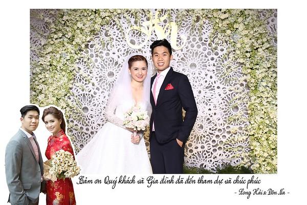 Chụp ảnh lấy liền và in hình lấy liền từ photobooth tại tiệc cưới của Na & Hải | Instant Print Photobooth at Na & Hai's Wedding | PRINTAPHY - PHOTO BOOTH VIETNAM