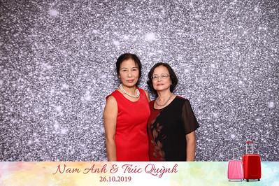 Dịch vụ in ảnh lấy liền & cho thuê photobooth tại sự kiện tiệc cưới của Nam Anh & Trúc Quỳnh | Instant Print Photobooth Vietnam at Nam Anh & Truc Quynh's Wedding