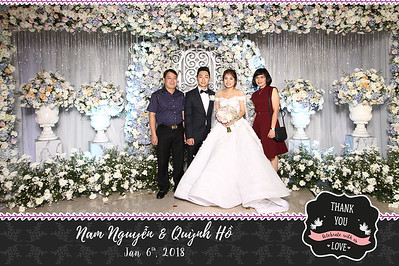 Chụp ảnh lấy liền và in hình lấy liền từ photobooth tại tiệc cưới của Nam Nguyen & Quynh Ho | Instant Print Photobooth at Nam Nguyen & Quynh Ho's Wedding | PRINTAPHY - PHOTO BOOTH VIETNAM