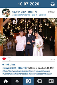 Dịch vụ in ảnh lấy liền & cho thuê photobooth tại sự kiện tiệc cưới của Nguyên Bình & Bảo Thi   Instant Print Photobooth Vietnam at Nguyen Binh & Bao Thi's wedding