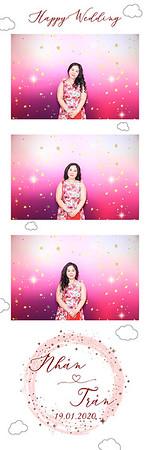 Dịch vụ in ảnh lấy liền & cho thuê photobooth tại sự kiện tiệc cưới của Nhan & Tran | Instant Print Photobooth Vietnam at Nhan & Tran's wedding