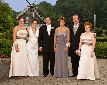 """Lisa and Tom,  The wedding pictures were spectacular, to say the least.   Thanks for helping us celebrate and for """"saving us"""" at the last minute.   It was a great time.   Tom (father of the groom)"""