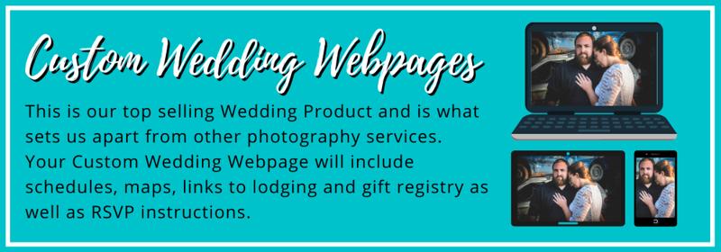 custom wedding websites