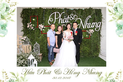 Chụp ảnh lấy liền và in hình lấy liền từ photobooth/photo booth tại sự kiện tiệc cưới Phát & Nhung | Instant Print Photobooth/Photo Booth at Phat & Nhung | PRINTAPHY - PHOTO BOOTH HO CHI MINH | PHOTO BOOTH VIETNAM