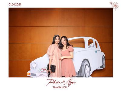 Dịch vụ in ảnh lấy liền & cho thuê photobooth tại sự kiện Tiệc cưới của Phiên & Ngọc | Instant Print Photobooth Vietnam at Phien & Ngoc's Wedding