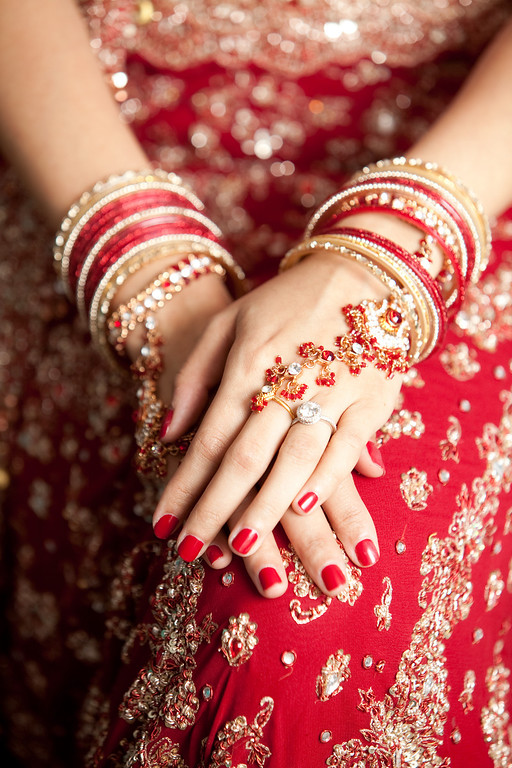 Indian wedding bracelets, by Daniel Taylor Photography.