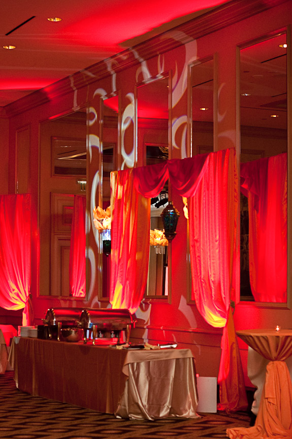 Indaglo Productions of Atlanta lighting plus the Wynfrey Hotel plus Daniel Taylor Photography equals gorgeous Indian wedding photography.