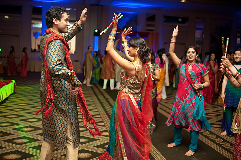 The Wynfrey Hotel is a great place for an Indian wedding or engagement celebration. Photo by Daniel Taylor Photography of Birmingham, Ala.