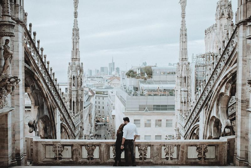 Couple Shooting in Milan