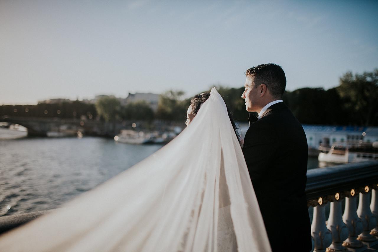 Wedding Photographer Paris France