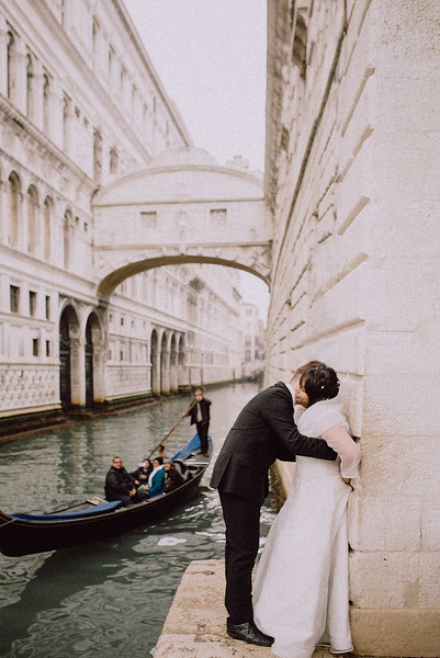 Vow Renewal in Venice