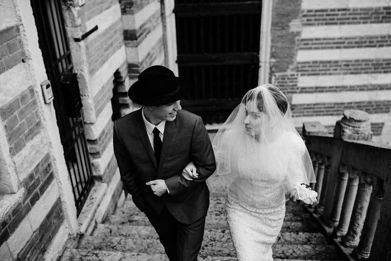 Elopement in Verona Italy
