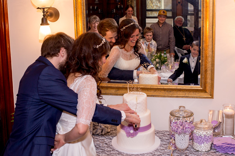 Cake cutting. The hard way :-)