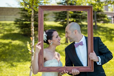 Love, framed: Wedding photography should capture that special sparkle in the eyes.