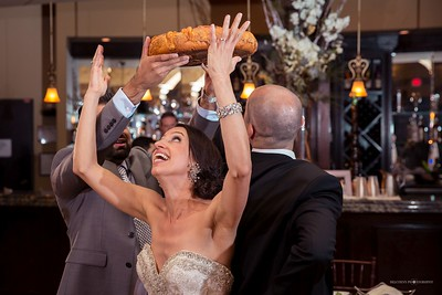 Bulgarian tradition of breaking bread to see whether the bride or the groom will have the last word in the household.