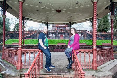 Sophie and Alex Pre-wedding Shoot in Belle Vue Park