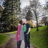 Sophie and Alex Pre-wedding Shoot in Belle Vue Park