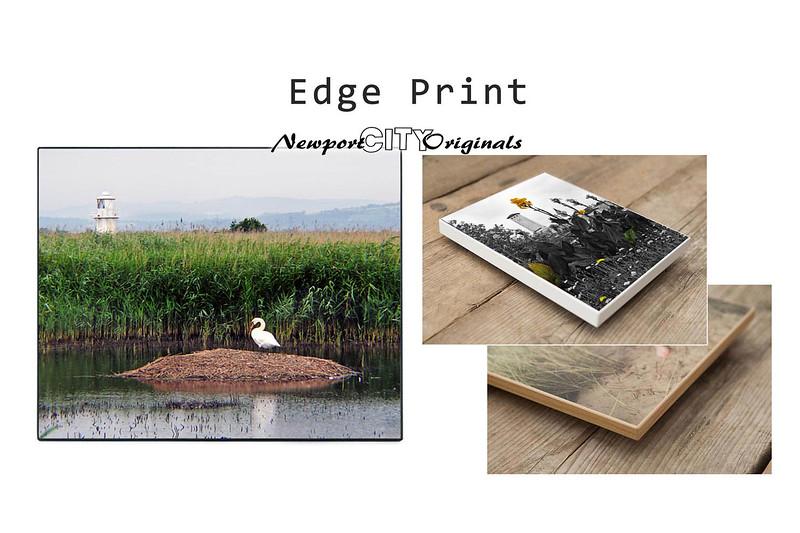 Edge Print: Frames & Display options