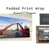 Padded Print Wrap: Frames & Display options