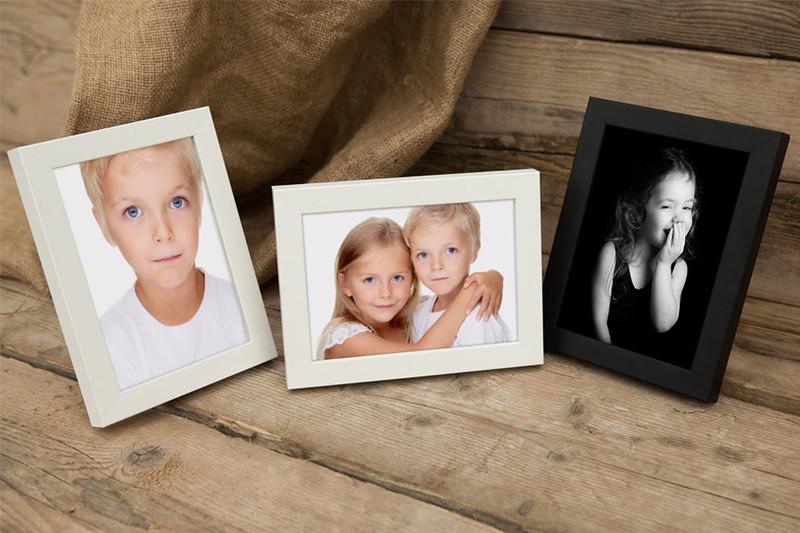 Frames, Canvas, Acrylic and Glacier Blocks: Desk Frame 1