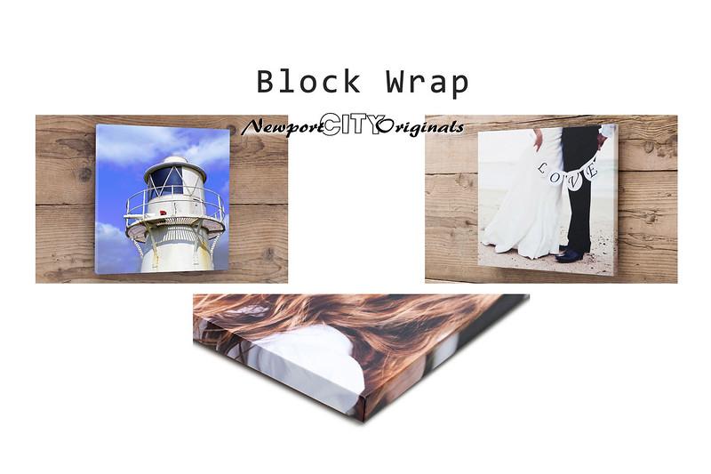 Block Wrap: Frames & Display options