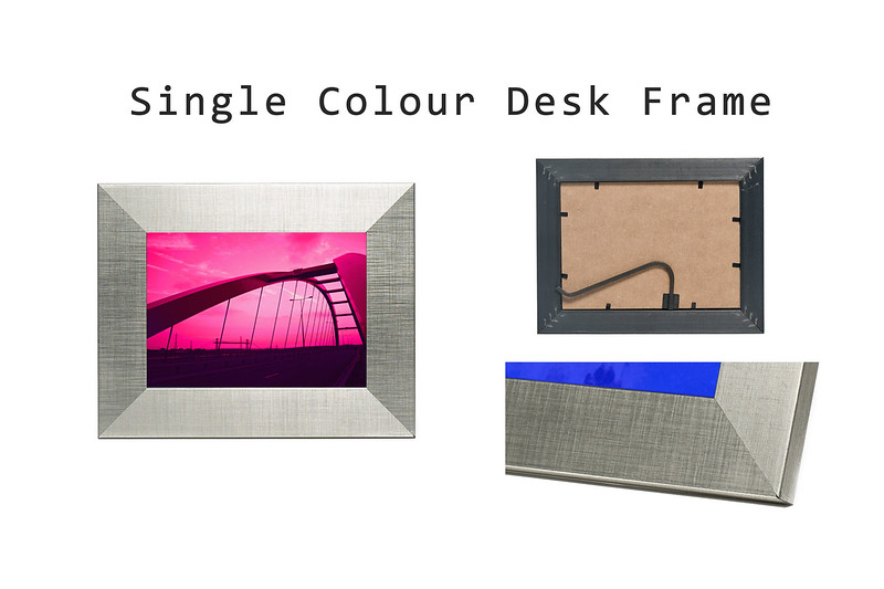 Single Colour Desk Frame