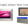 Single Colour Desk Frame