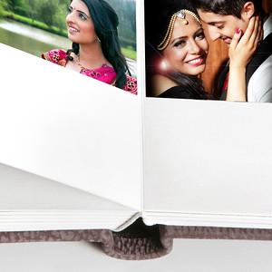 Queensbury Flushmount Wedding Albums by Nick Fowler
