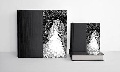 Queensbury Flushmount Wedding Albums for Parents