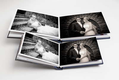 Queensbury Flushmount Wedding Albums - smaller copies