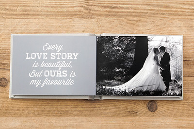 Wedding Photo Albums by Nick Fowler Photography