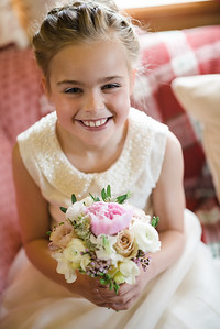 Shropshire Wedding Flower Girl