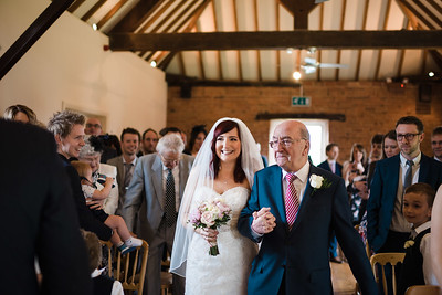 Delbury Hall Wedding Ceremony